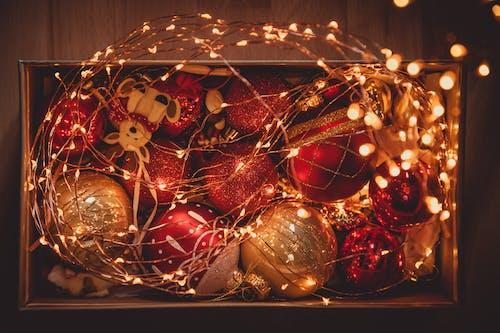 Základová fotografie zdarma na téma červená, oslava, ozdoby, vánoce