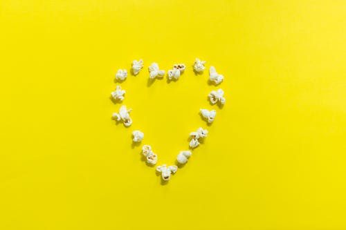 Popcorn Heart Decor