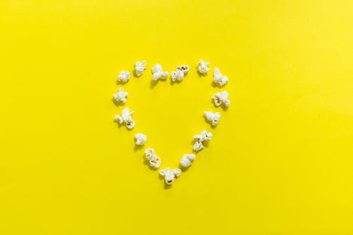 Popcorn Heart Decor