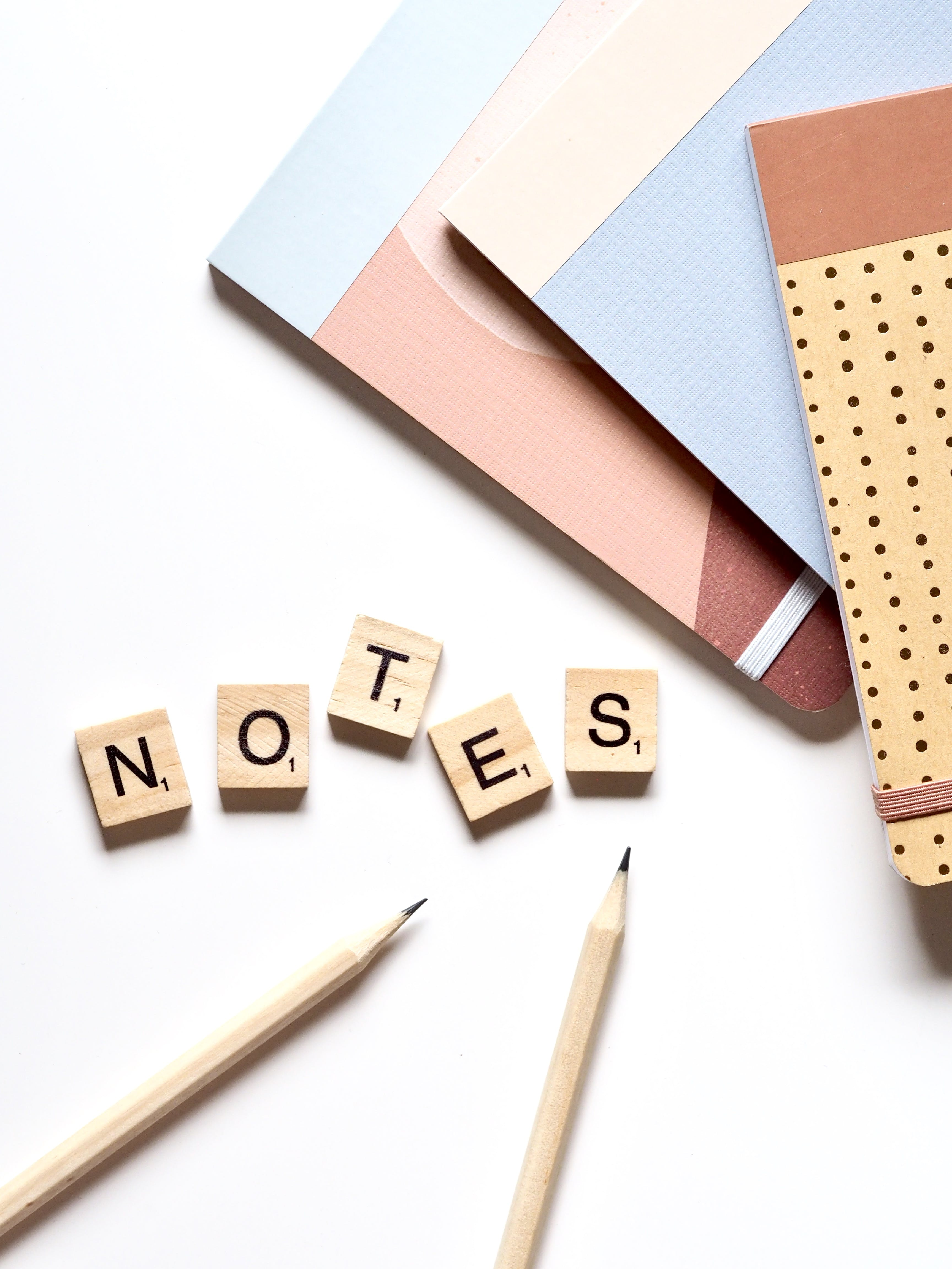 Brown Wooden Notes Word Puzzles