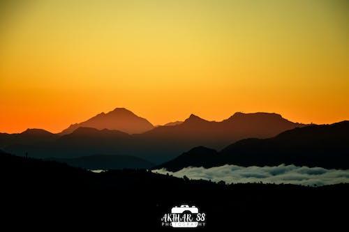 Foto stok gratis pegunungan