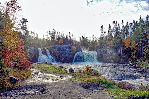 Základová fotografie zdarma na téma duální vodopád, vodopád