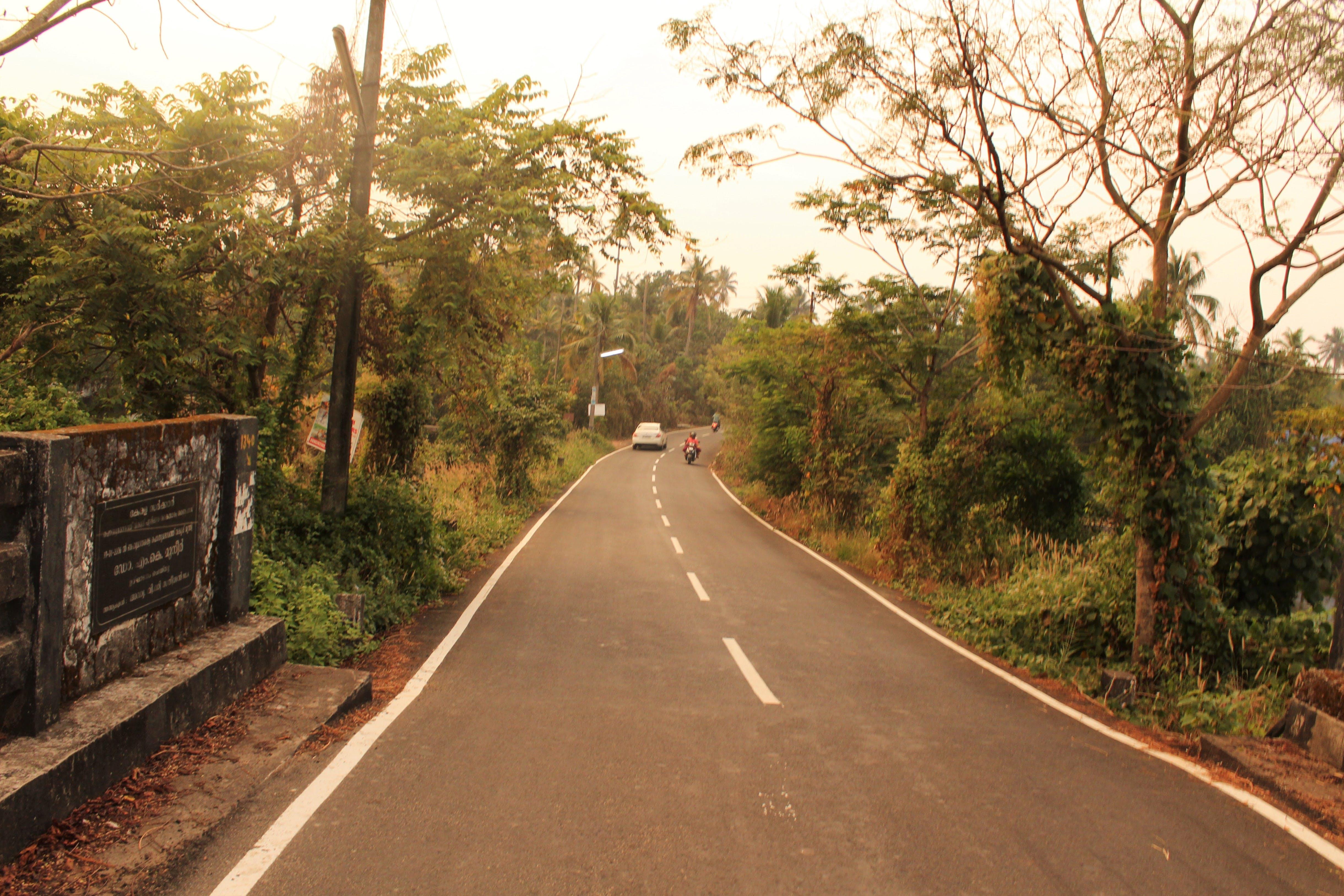 Základová fotografie zdarma na téma cestovní ruch, rovnou silnici, vesnice, vozovka