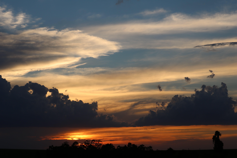 Free stock photo of cloud, evening sun, heaven, horizon