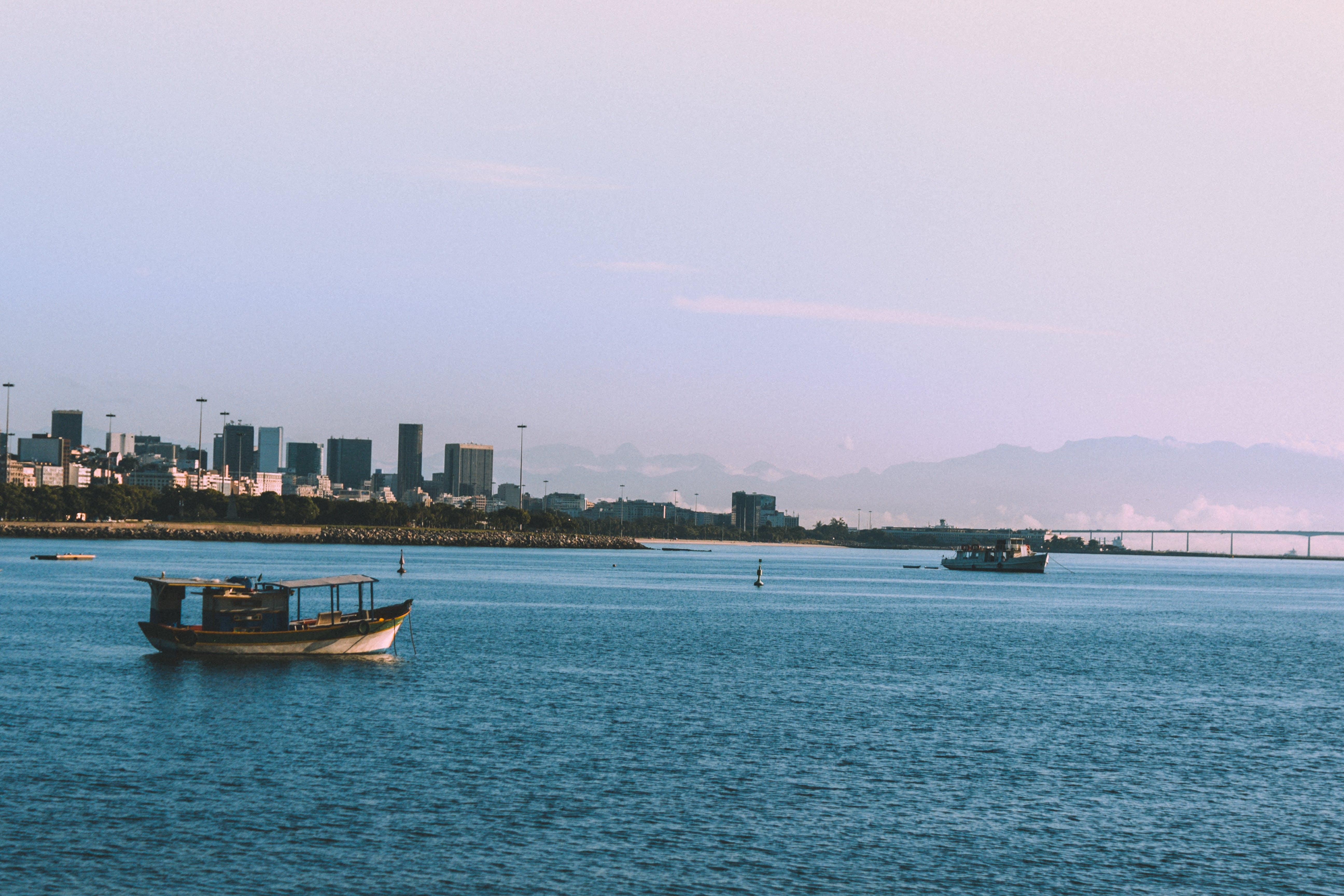 čluny, dopravní systém, moře