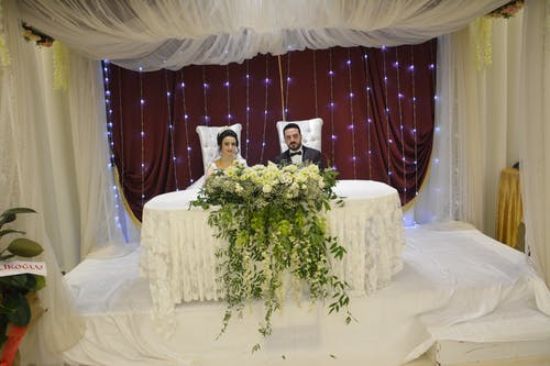 Ilmainen kuvapankkikuva tunnisteilla damat, düğün, düğün salonu, evlilik