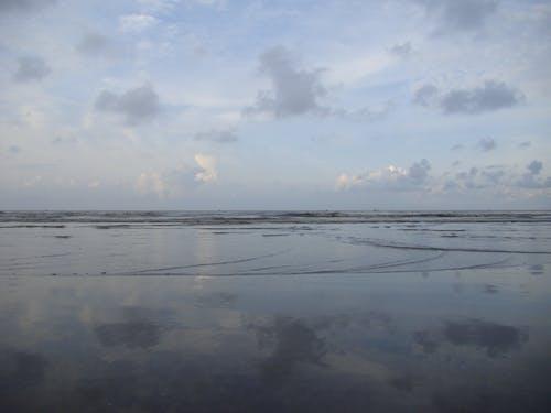 Free stock photo of mirror, ocean, reflaction