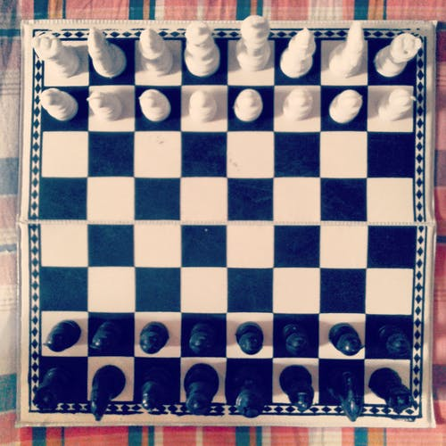 Free stock photo of chessboard