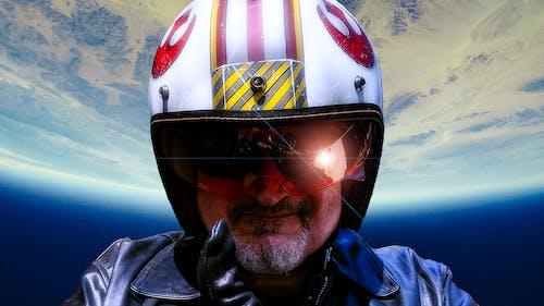 Free stock photo of motorcycle helmet, space exploration, star wars