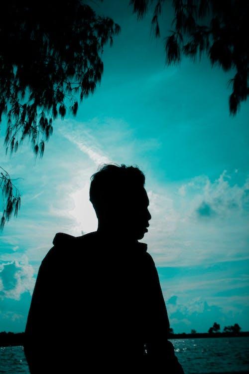 Foto d'estoc gratuïta de àngels blaus, blau, cel, cel blau