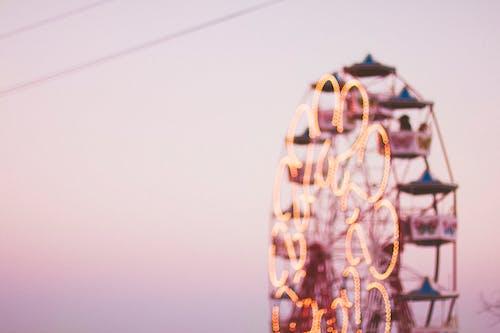 Безкоштовне стокове фото на тему «оглядове колесо, розмитий, розмиття»