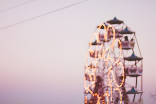 Free stock photo of blur, ferris wheel, bokeh, blurred