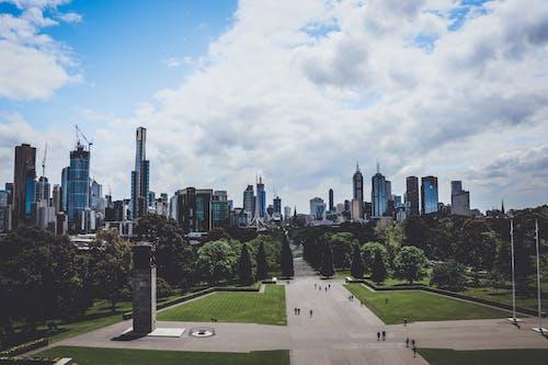 Foto stok gratis bangunan, cityscape, gedung menara, kaki langit