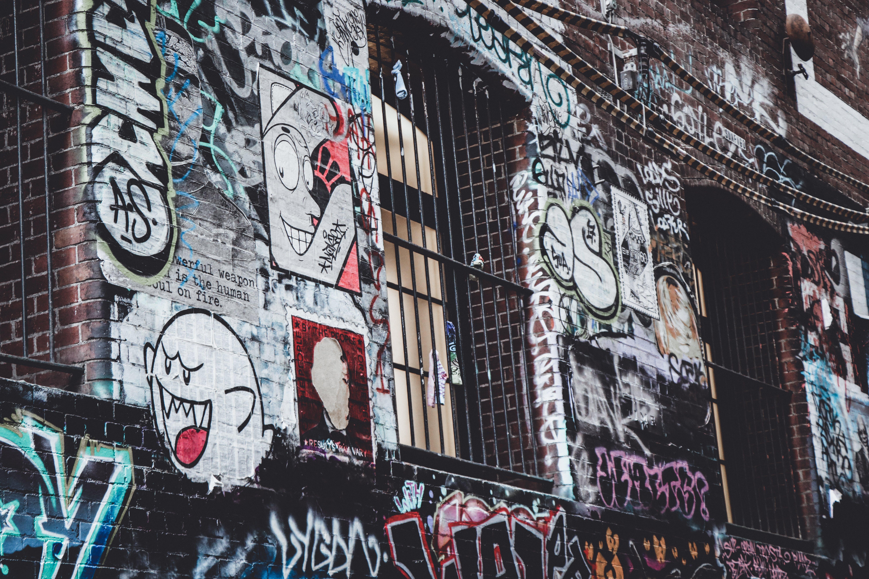 Free stock photo of street art