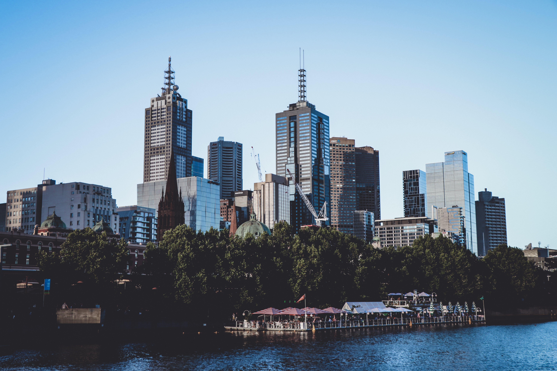 Kostnadsfri bild av arkitektur, byggnader, horisont, skyskrapor