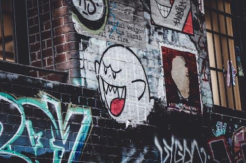 Ingyenes stockfotó fal, falfestmény, falfirka, festés témában