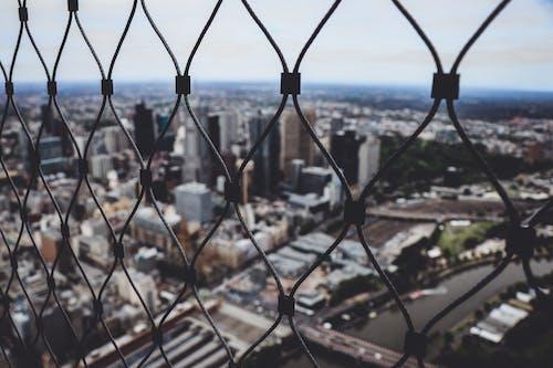 Ảnh lưu trữ miễn phí về các tòa nhà, hàng rào, hàng rào dây xích, lưới thép