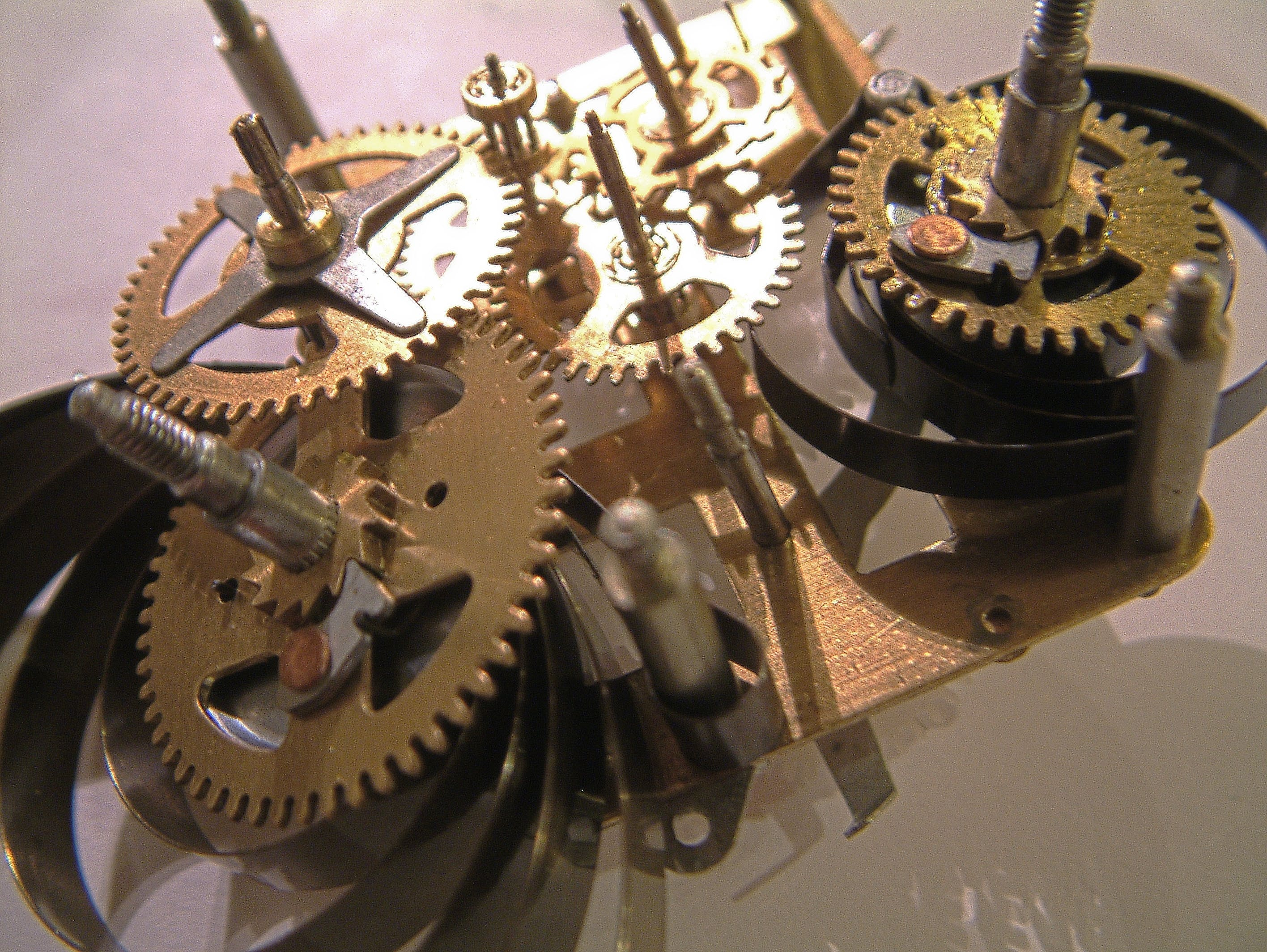 Free stock photo of alarm clock, clockwork, old clock, toothed wheels