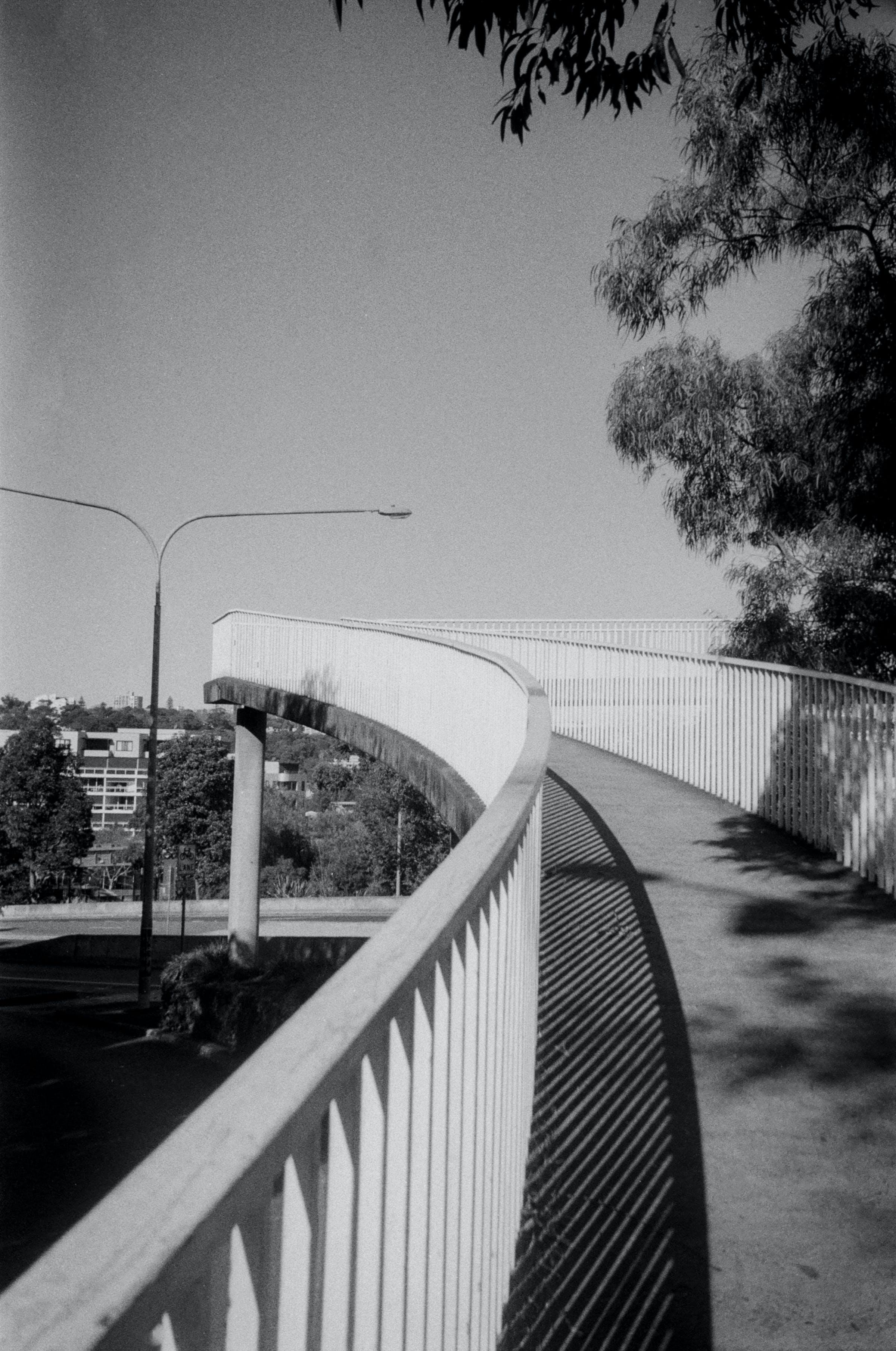 Free stock photo of 35mm, black and white, bridge, city