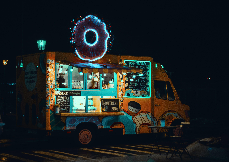 Gratis stockfoto met belicht, fel, neon, Neonbord