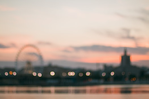 Free stock photo of light, city, dawn, landscape