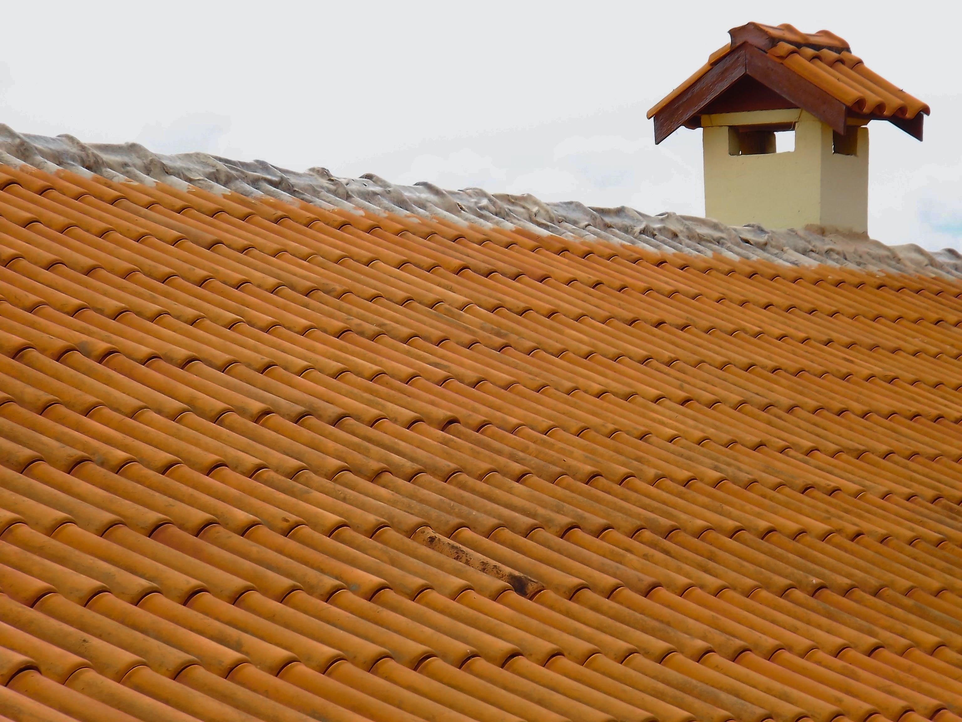 Free stock photo of bbq, colors, orange, roof