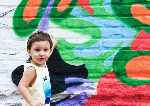 Kostnadsfri bild av barn, bebis, design, dra
