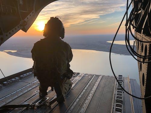 Immagine gratuita di al anbar, ch-47, deserto, esercito americano