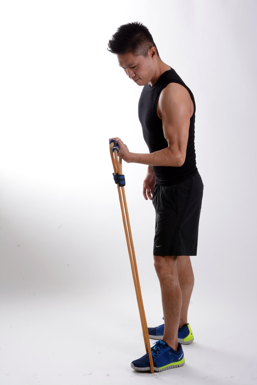 ausbildung, elastischen seil, fitnessstudio