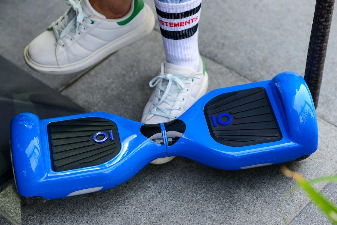 Hoverboard Biru