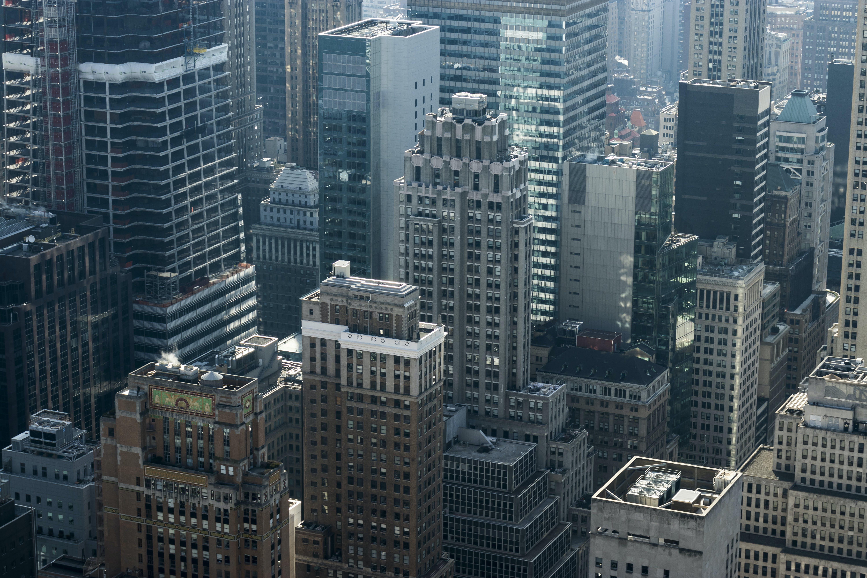 Kostenloses Stock Foto zu architektur, büro, gebäude, luftaufnahme