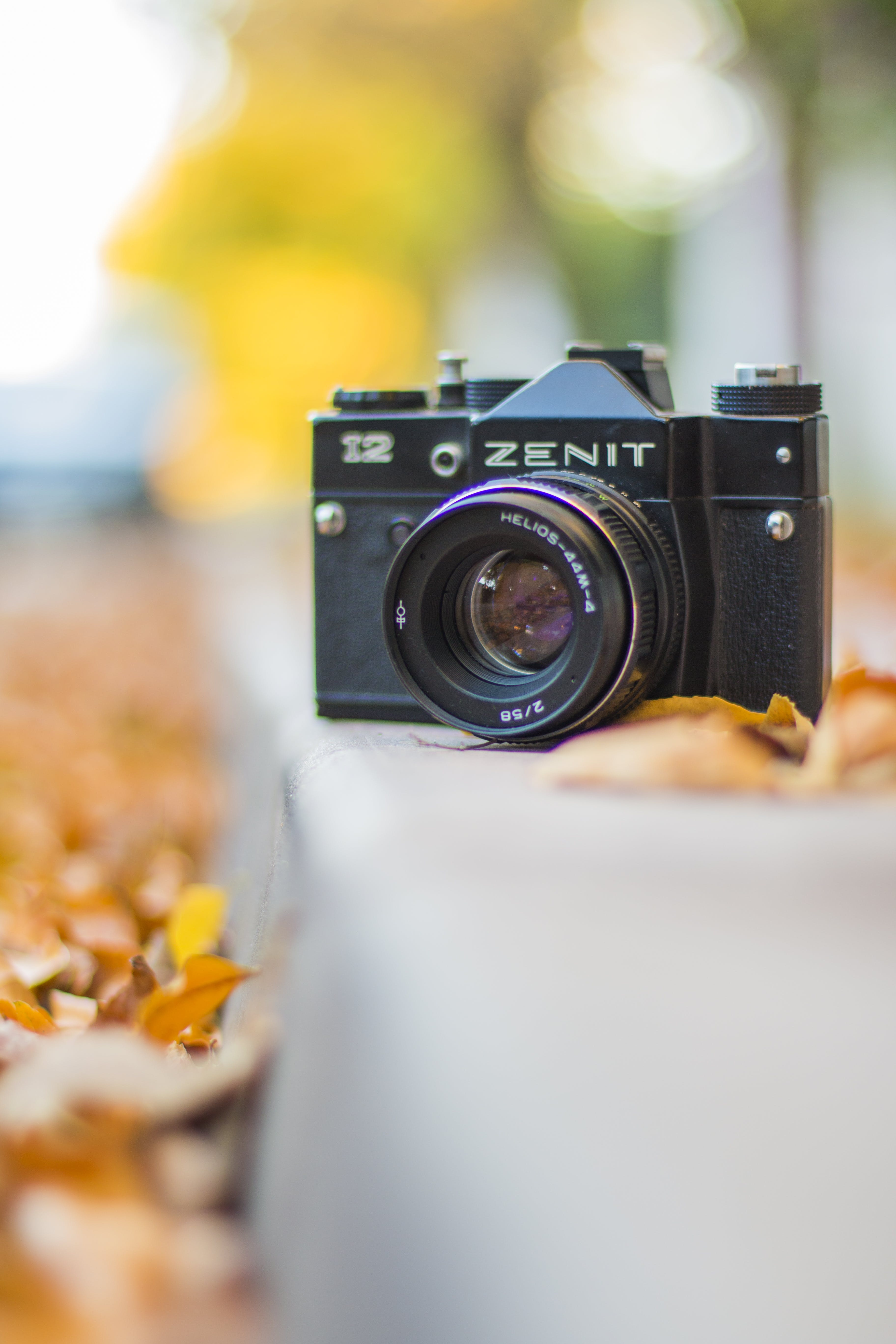 Black Zenit Dslr Camera