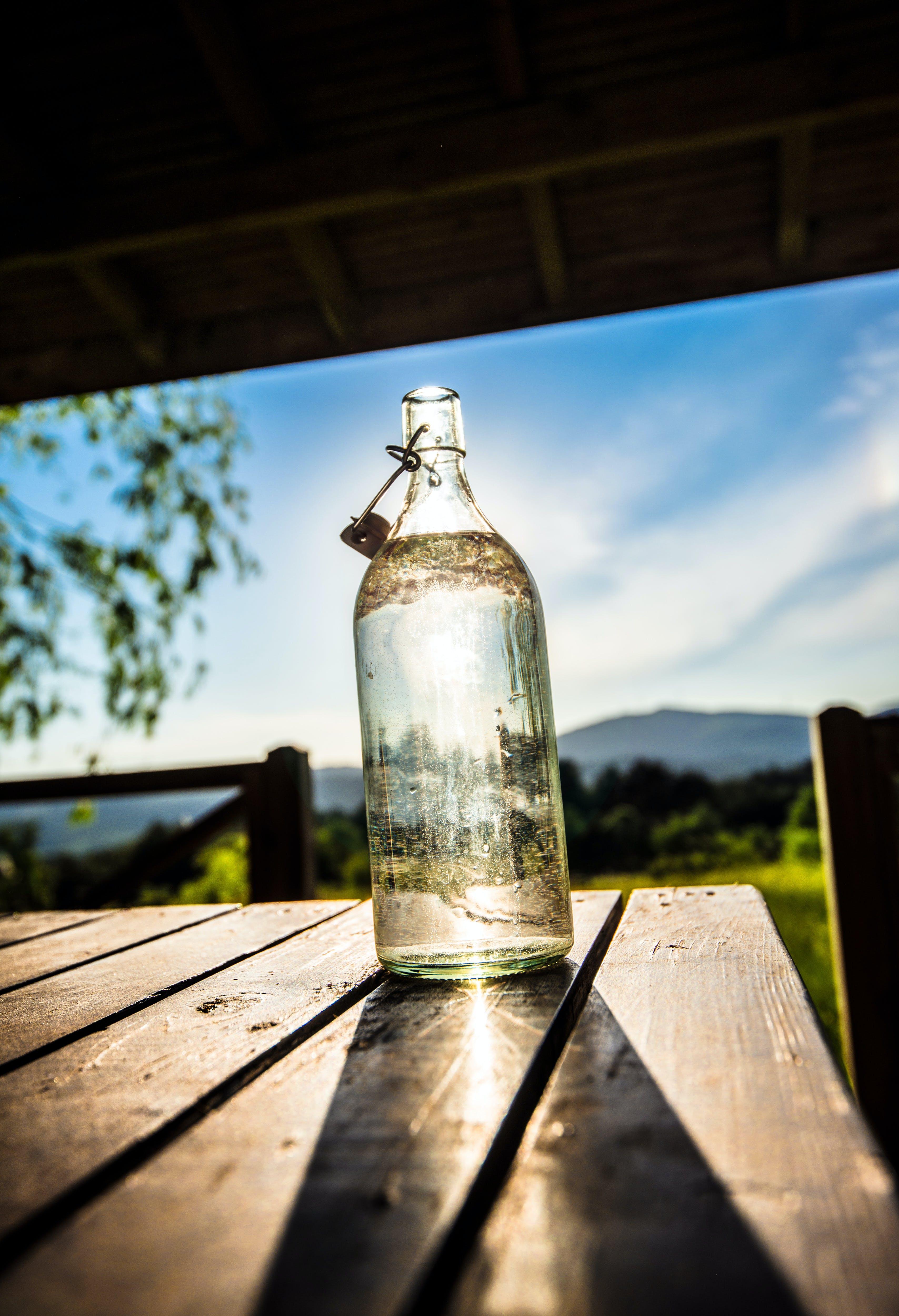 Free stock photo of bottle, decoration, garden, glass