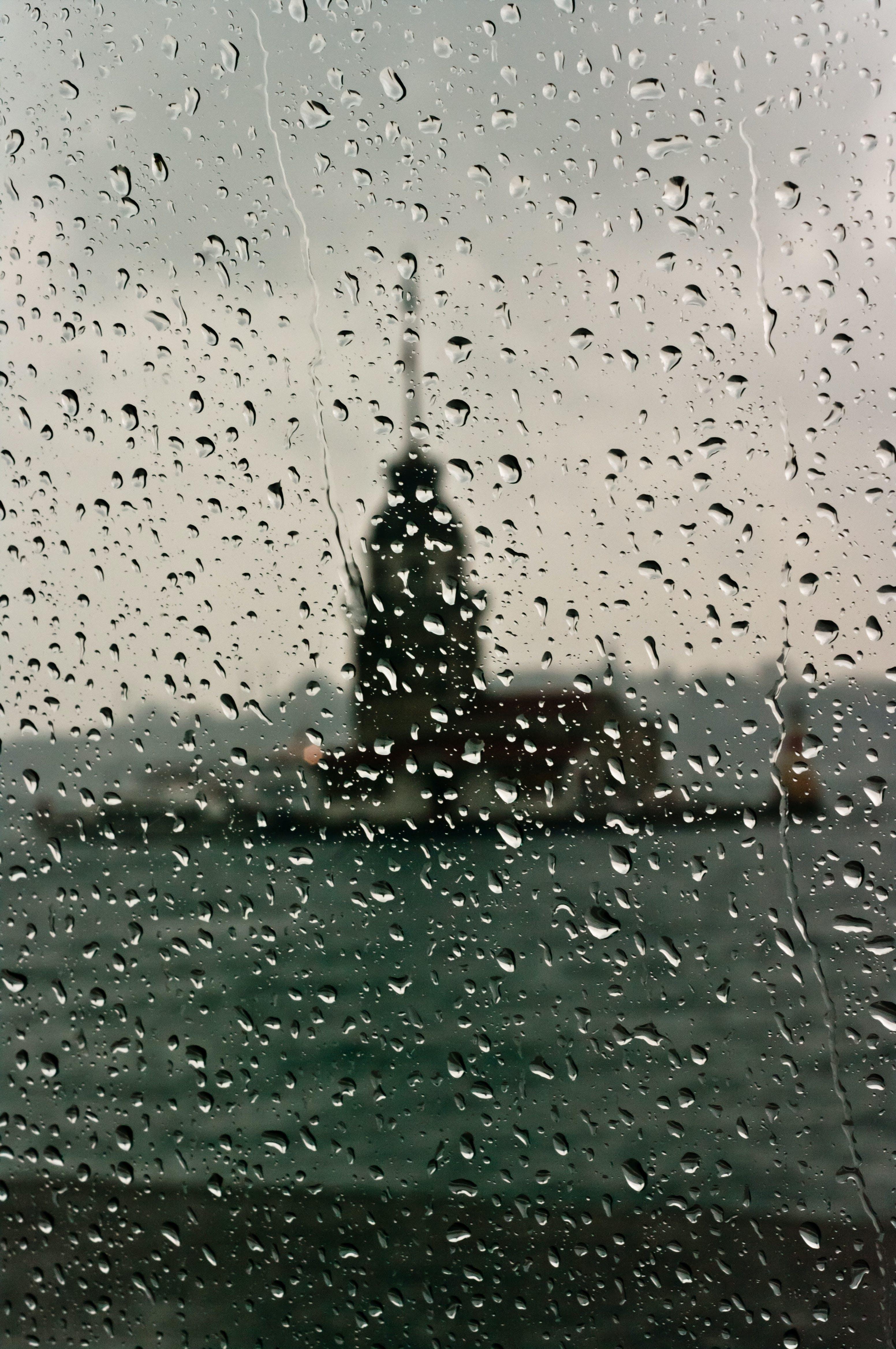 Free stock photo of bosphorus, Istanbul, maiden's tower, rainy