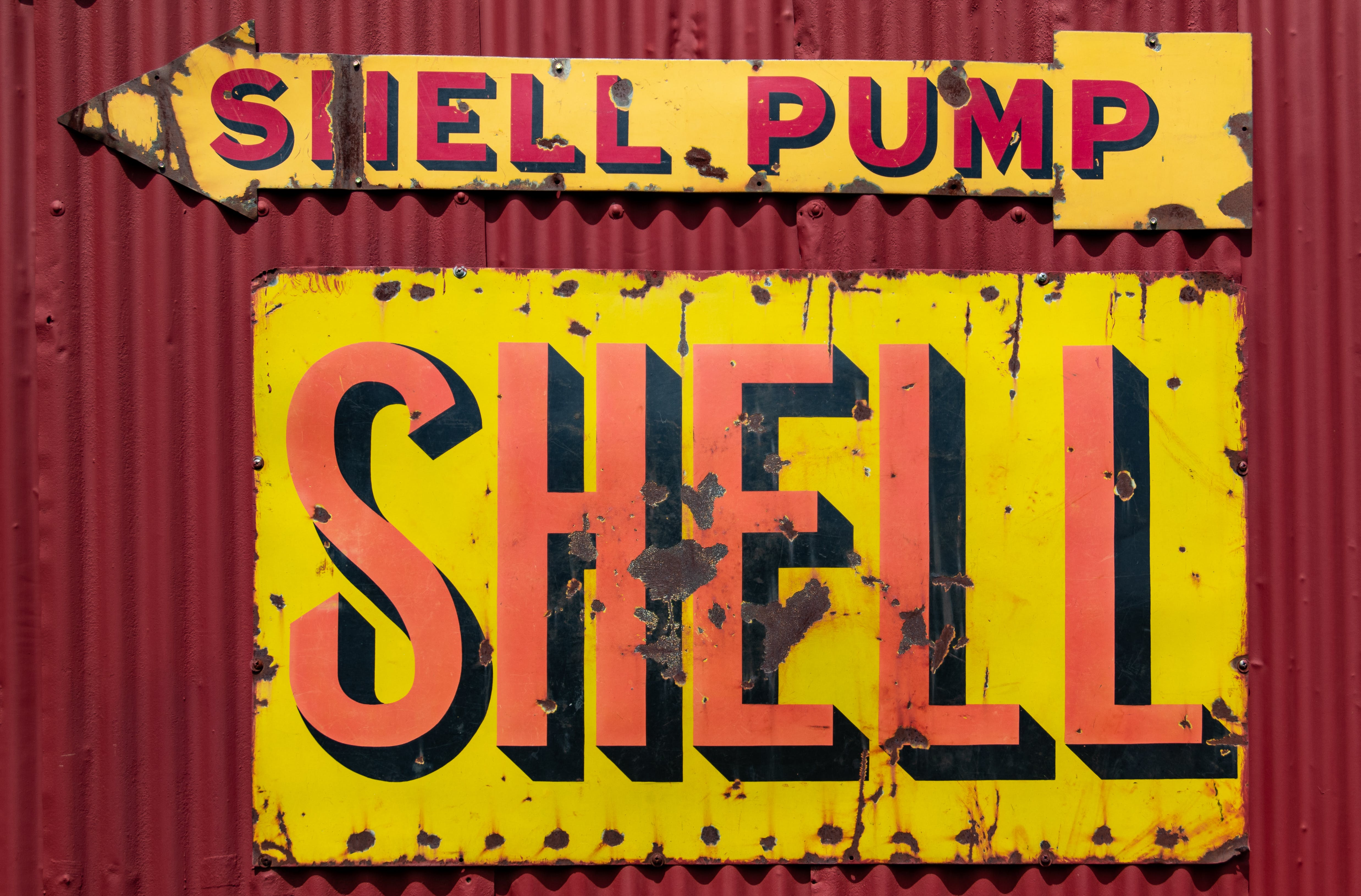 Free stock photo of garage, oil, old, petrol