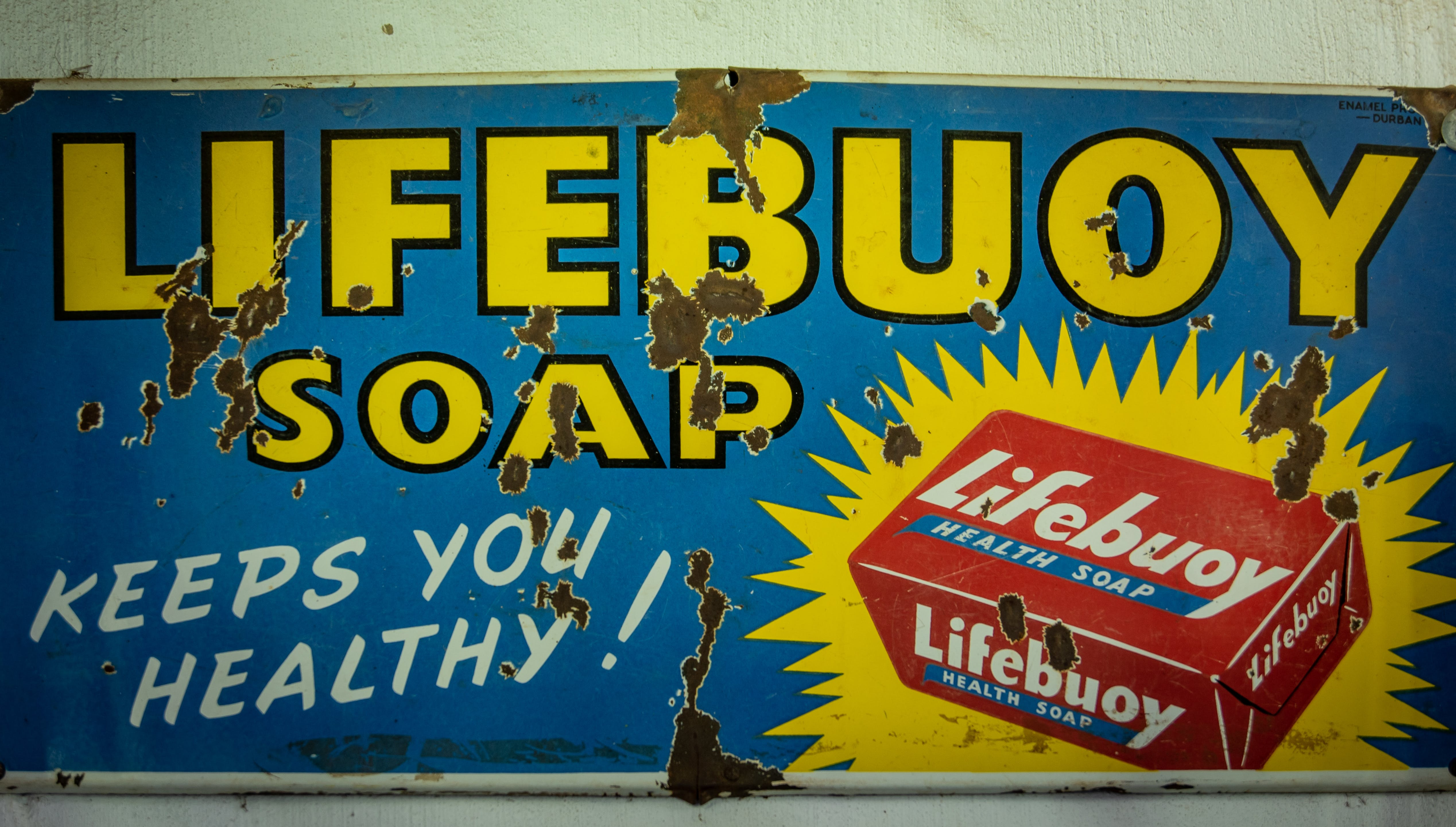 Free stock photo of old, rust, sign, soap