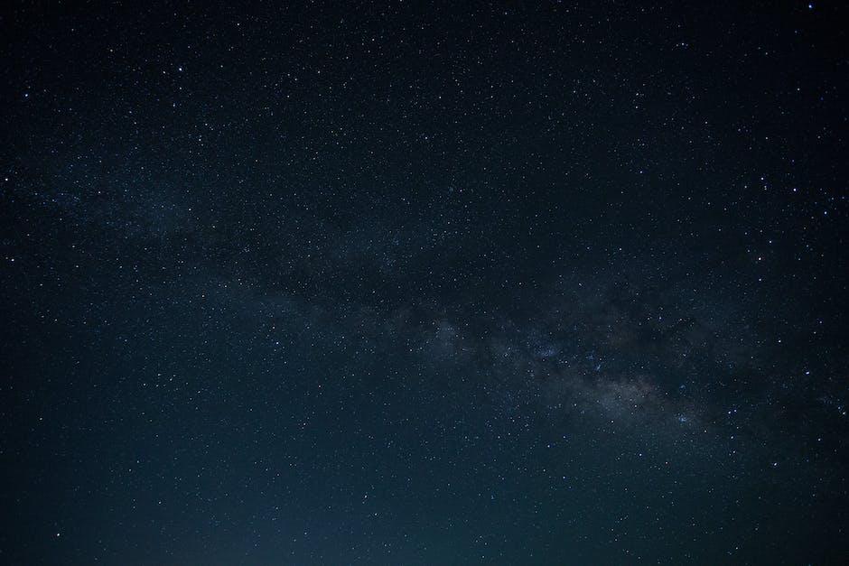 Astronomy dark evening glowing