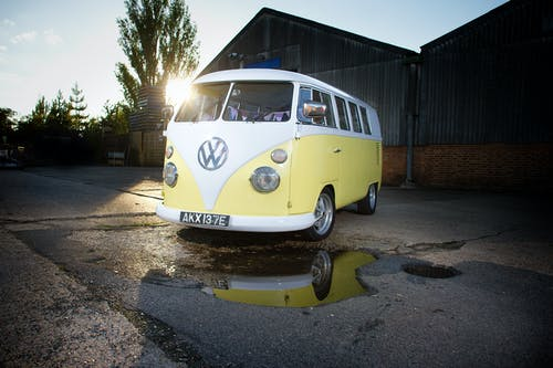 Free stock photo of 1967, camper van, classic car, kombi