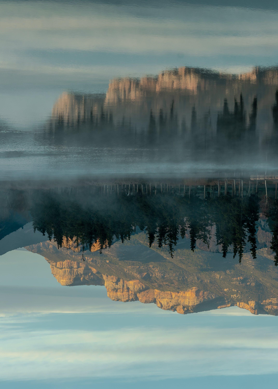 Kostenloses Stock Foto zu bäume, draußen, felsiger berg, friedlich
