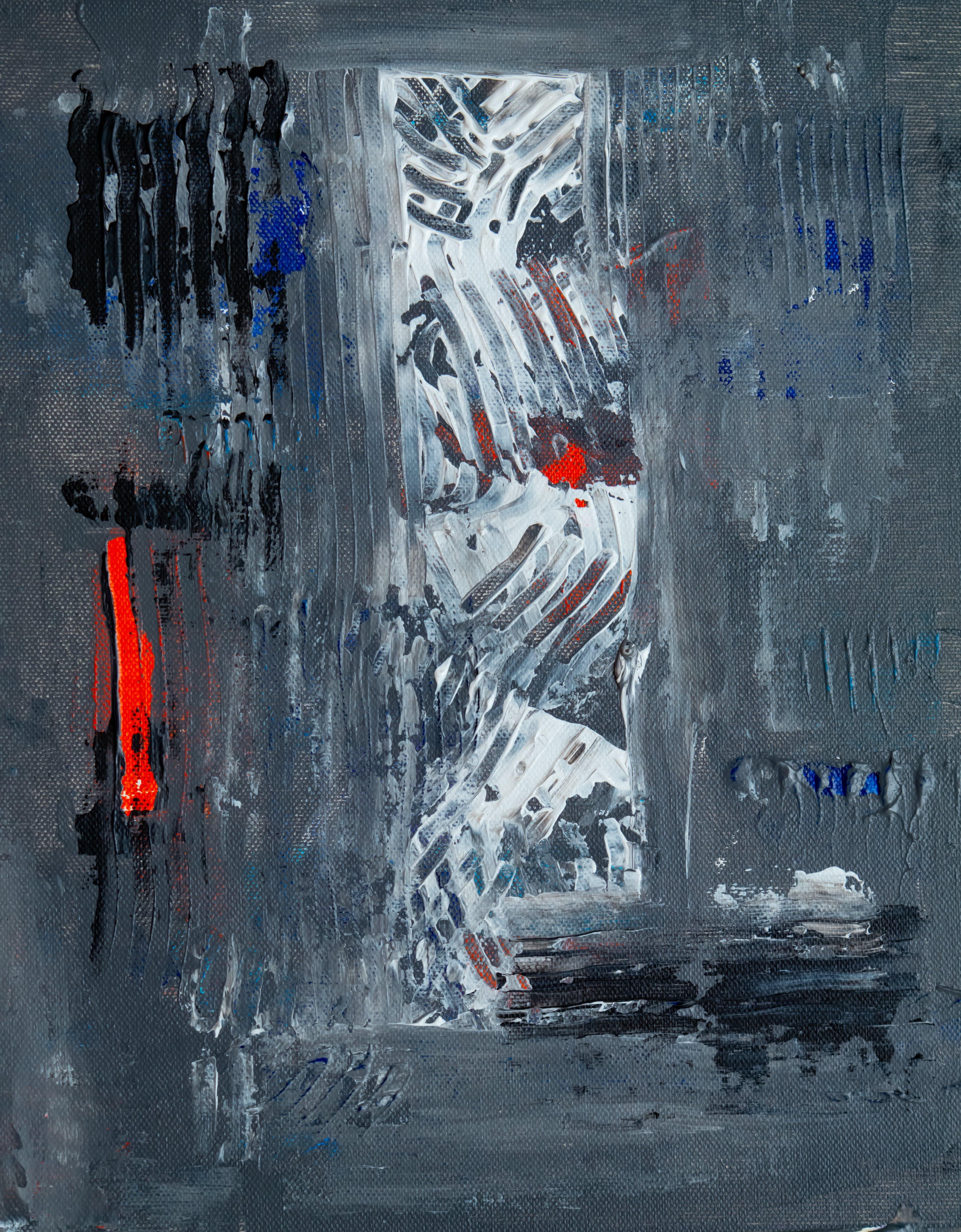 Kostenloses Stock Foto zu abstrakter expressionismus, abstraktes gemälde, acryl, acrylfarbe