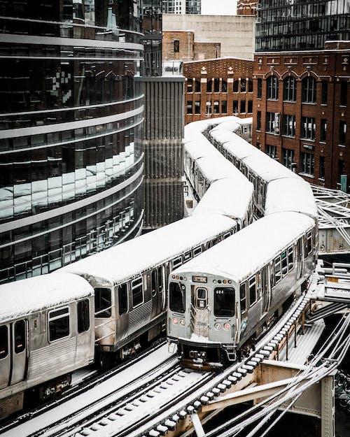 交通系統, 公共交通, 公共交通工具, 城市 的 免费素材照片