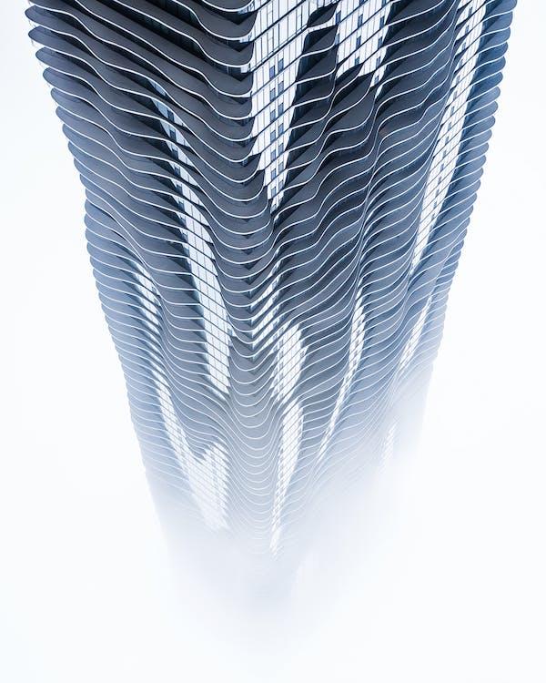 Gray Tower 3d Wallpaper