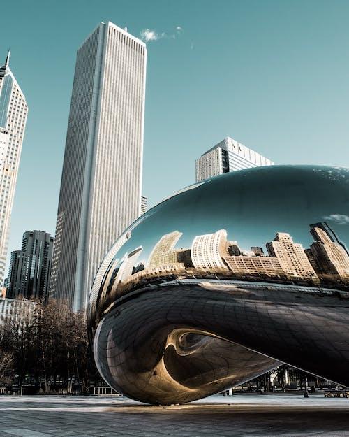 Foto profissional grátis de aço, alto, ao ar livre, arquitetura