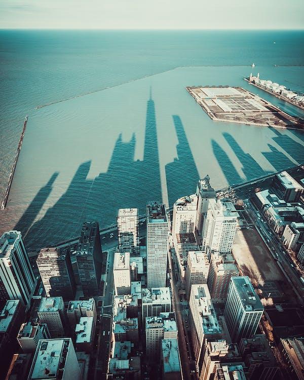 água, alto, arquitetura