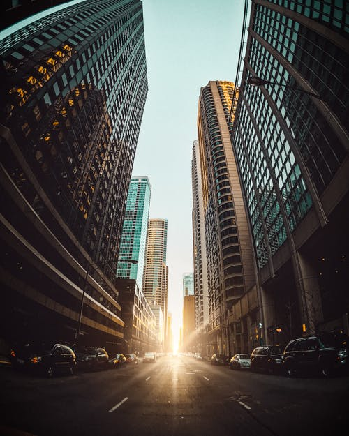 Ảnh lưu trữ miễn phí về ánh sáng mặt trời, các tòa nhà, cảnh quan thành phố, đường
