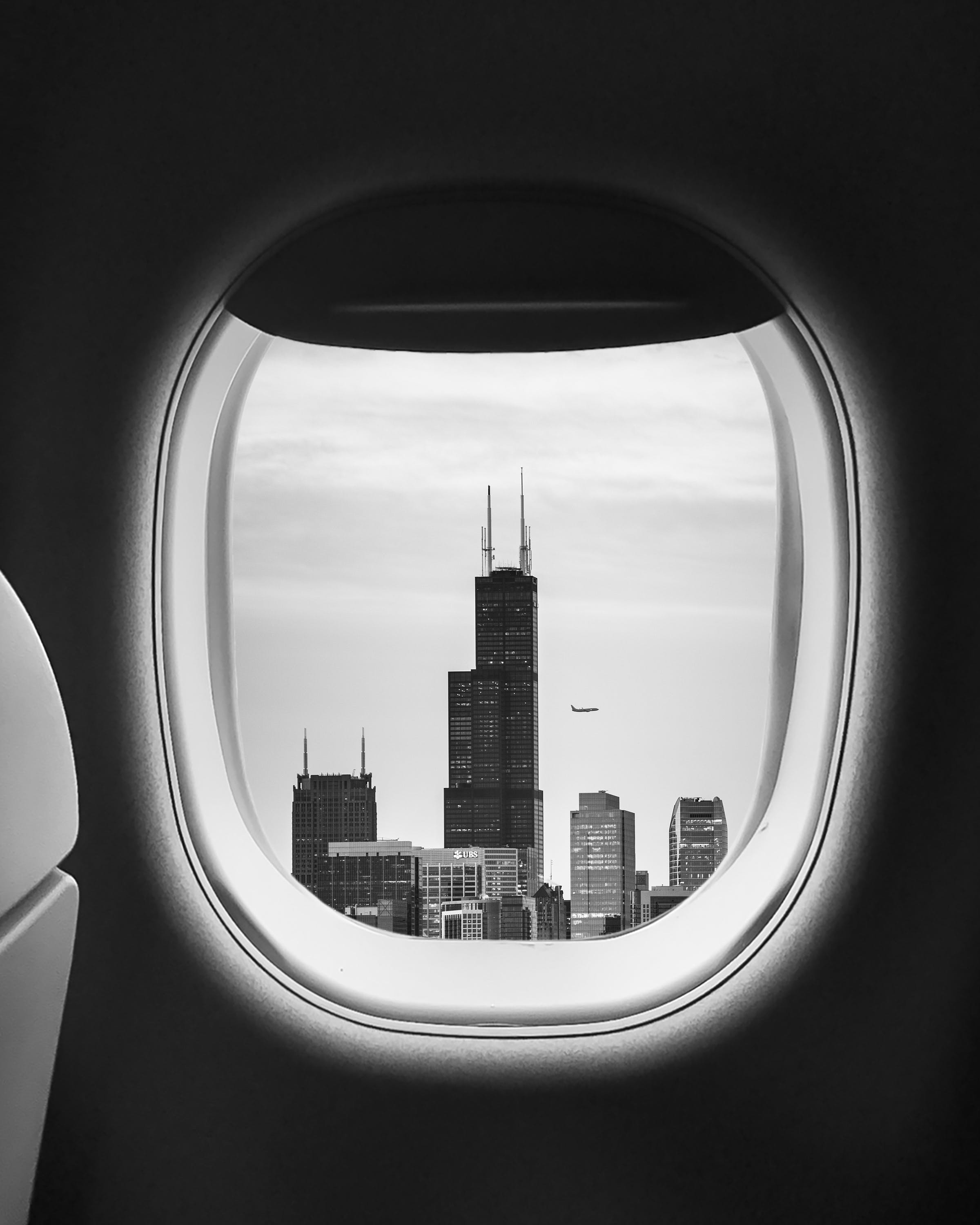 Window View of an Airplane