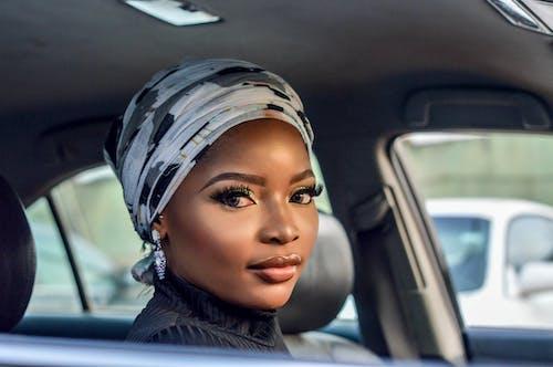 메이크 업, 속눈썹, 아름다운 여성, 아프리카 여성의 무료 스톡 사진