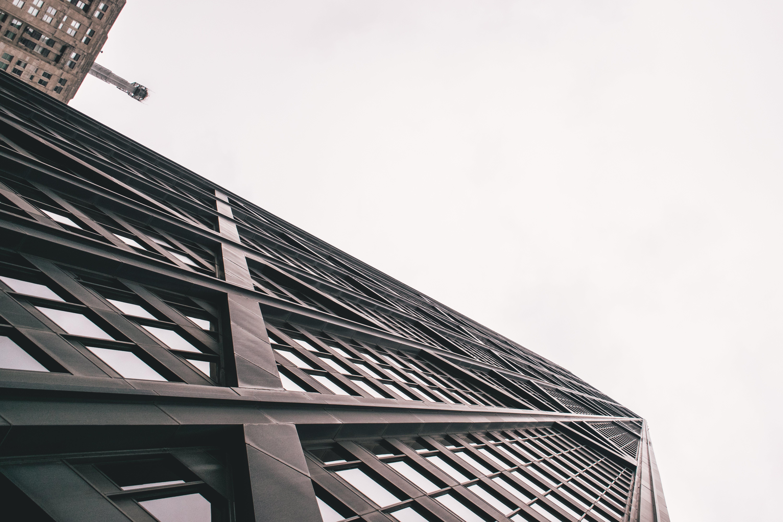 Kostenloses Stock Foto zu architektur, aufnahme von unten, chicago, perspektive
