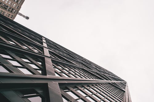 คลังภาพถ่ายฟรี ของ ชิคาโก, ตึกระฟ้า, ภาพถ่ายมุมต่ำ, มุมมอง