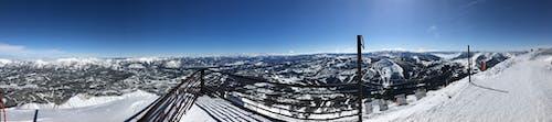 Foto profissional grátis de pico solitário, vista panorâmica